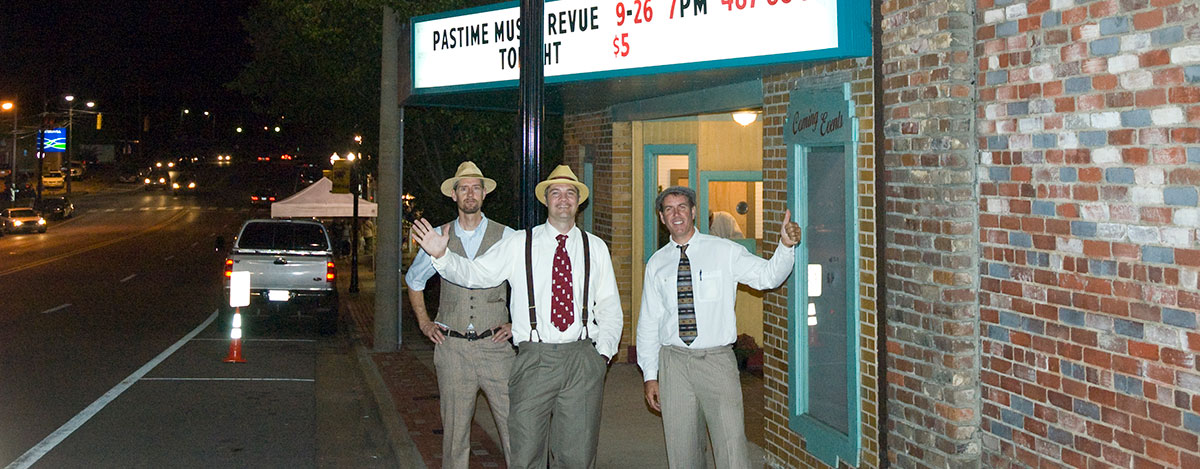 Fun at the Pastime Theatre