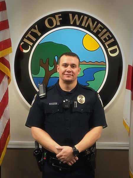 Officer Brad Burroughs